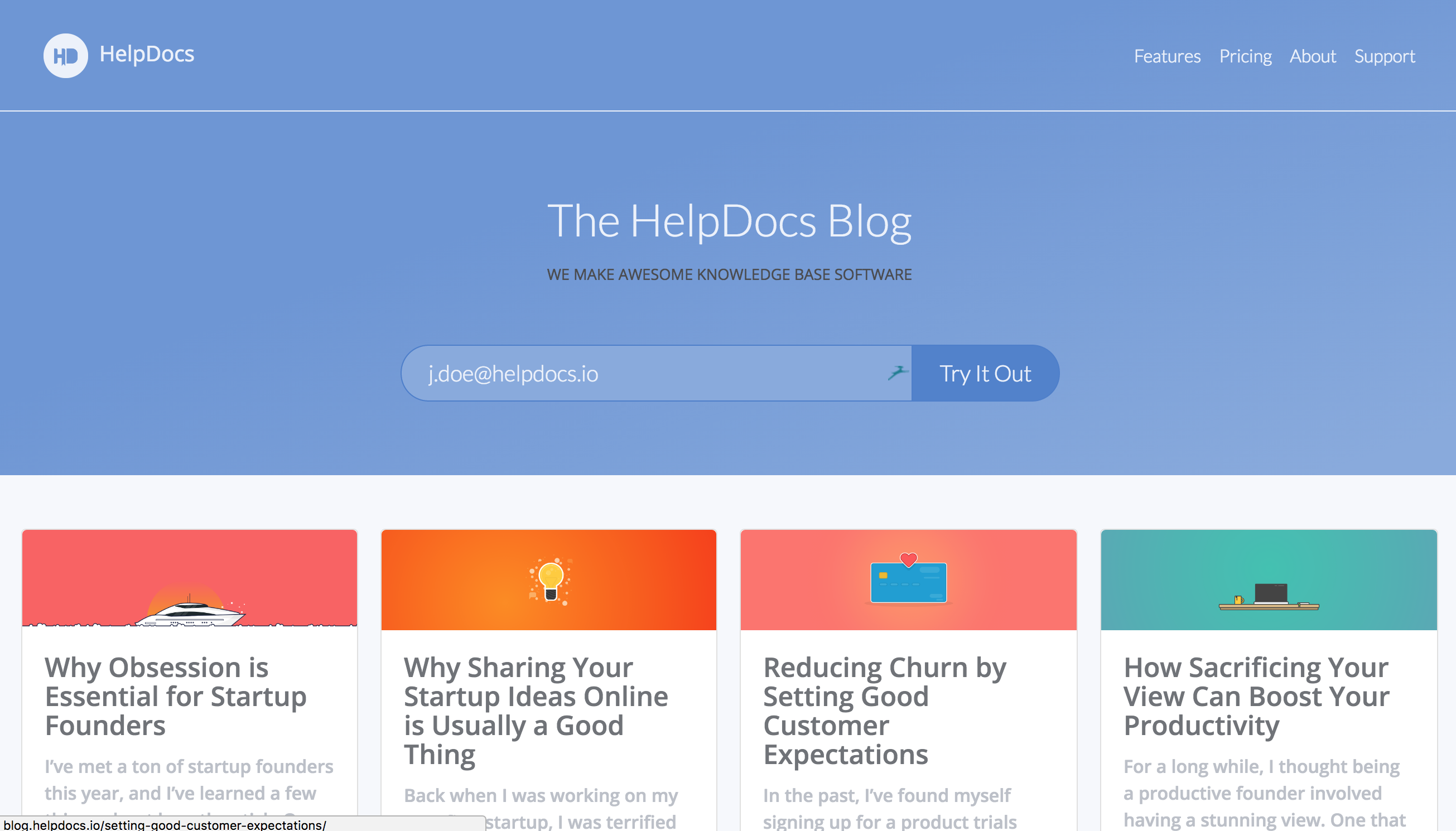 The HelpDocs Blog