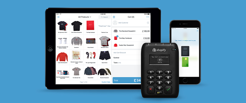 Shopify makes it easy to sell with POS
